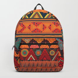 Tribal Ethnic (earth colors) Backpack