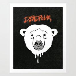 Deadpolar Art Print