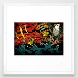 Sushi Framed Art Print
