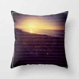 Sunrise at cabos Throw Pillow