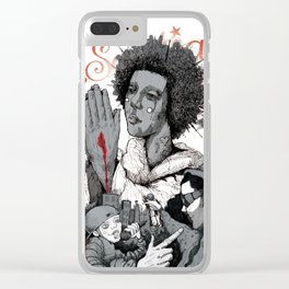 Divine Mercy Clear iPhone Case