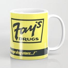 Fay's Drugs | the Immortal Yellow Bag Coffee Mug