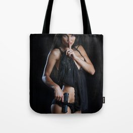 Shhh - James Bond Tote Bag