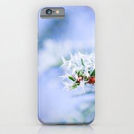 Bitter Cold, Nice Fir Tree iPhone Case
