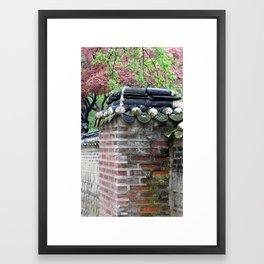 secret garden 4 Framed Art Print