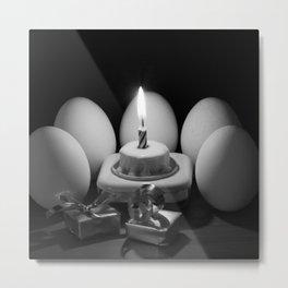 Happy Birthday - Make a Wish Metal Print