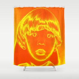 Goldenboy Shower Curtain
