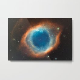 God's Eye Nebula Deep Space Telescopic Photograph No. 2 Metal Print