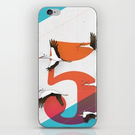 5Birds iPhone Skin