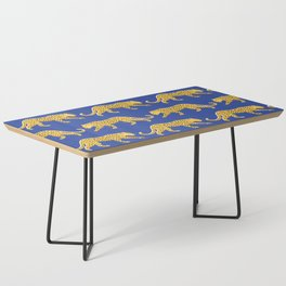 The New Animal Print - Blue Coffee Table