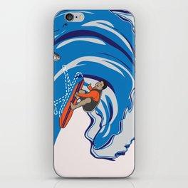 Pressing Waves iPhone Skin