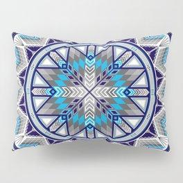 Sacred Places Blue Pillow Sham