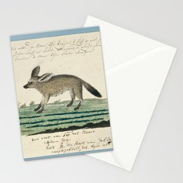 18th Century Bat-eared Fox Stationery Cards