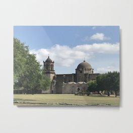 San José Mission Metal Print