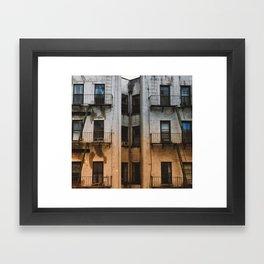 Colorful Gradation Framed Art Print
