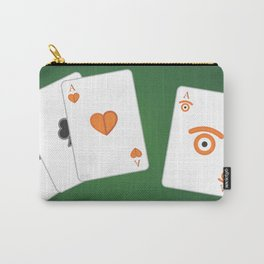 poker of glances Carry-All Pouch