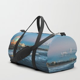 Wheel of Fortune - Santa Monica, California Duffle Bag