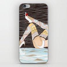 Oh la la iPhone Skin