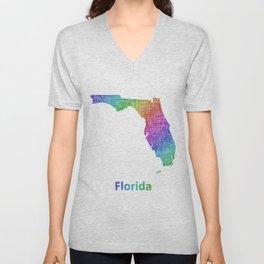 Florida Unisex V-Neck