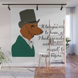 Mr. Doxie Wall Mural