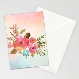 Pastel Posy Stationery Cards