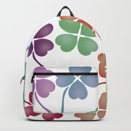 Rainbow cloves Backpack