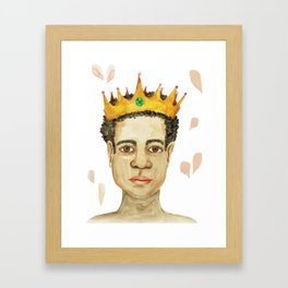 King Passion Framed Art Print