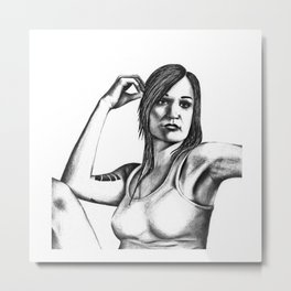 Wentworth | Franky Doyle Metal Print