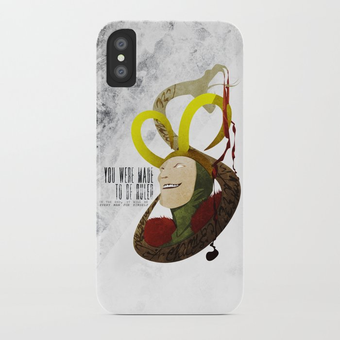 Made to be Ruled : Loki iPhone Case