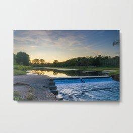 Lake Muhlenberg Dam Metal Print