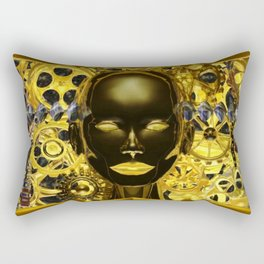 Android Clockwork Rectangular Pillow