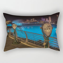 NIAGARA FALLS Idyllic Nightscape Rectangular Pillow