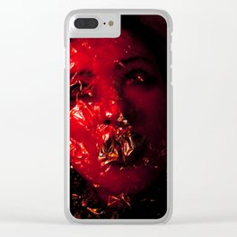 Angst Clear iPhone Case