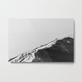 Appennino Lucano - Lines Metal Print