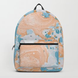 Summer watercolor drops Backpack