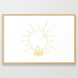 Ideas Framed Art Print
