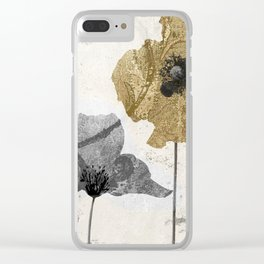 Poppyville II Clear iPhone Case