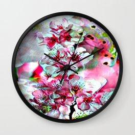 Cabsink17DesignerPatternFLG Wall Clock