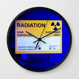 Radiation Wall Clock