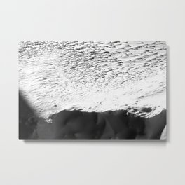 cliffs of snow Metal Print