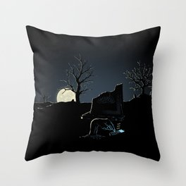 Texting Dead Throw Pillow