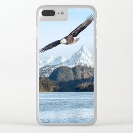 Eagle Flight Clear iPhone Case