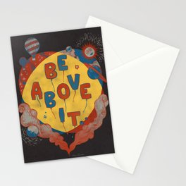 Be Above It Stationery Cards