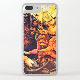 The creatures that haunt Clear iPhone Case