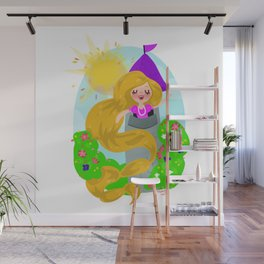 Rapunzel Wall Murals For Any Decor Style Society6