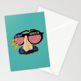 X-Ray Beaglepuss Specs Stationery Cards