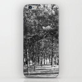 Black-and-White Woods iPhone Skin