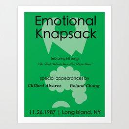 Emotional Knapsack - Friends Art Print