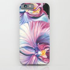 Pink Orchid Study iPhone 6s Slim Case