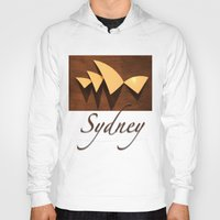 sydney Hoodies featuring Sydney by Mike Thomas Portraiture